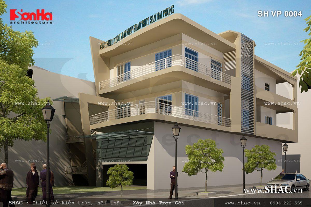 Thiết kế công ty thủy sản Hải Phòng