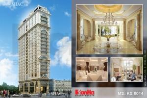 Thiết kế khách sạn kiến trúc Pháp 4 sao tại Đà Nẵng
