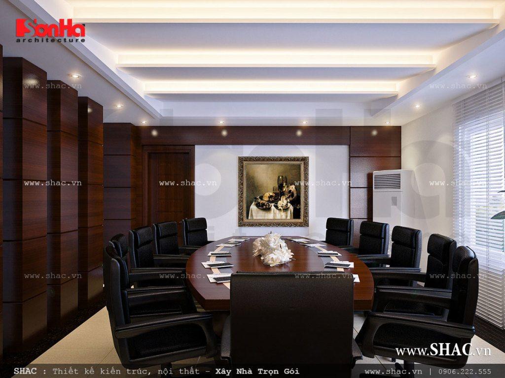 Phòng họp sang trọng cho công ty