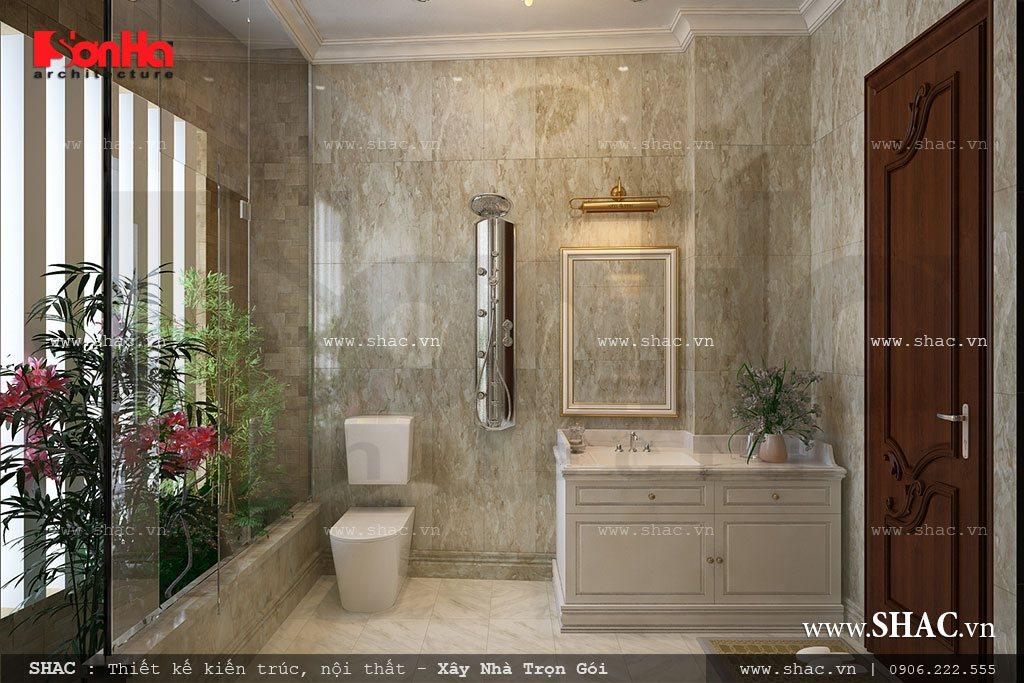 Phòng WC thoáng đẹp