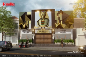 Thiết kế quán Bar Karaoke phong cách Pharaon