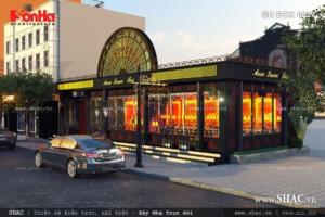 Thiết kế quán bar kiểu phương Tây