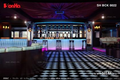 Thiết kế quán bar sang trọng phong cách Pháp