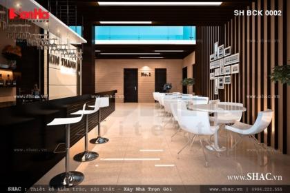 Thiết kế quán Bar xông hơi Kim Thánh