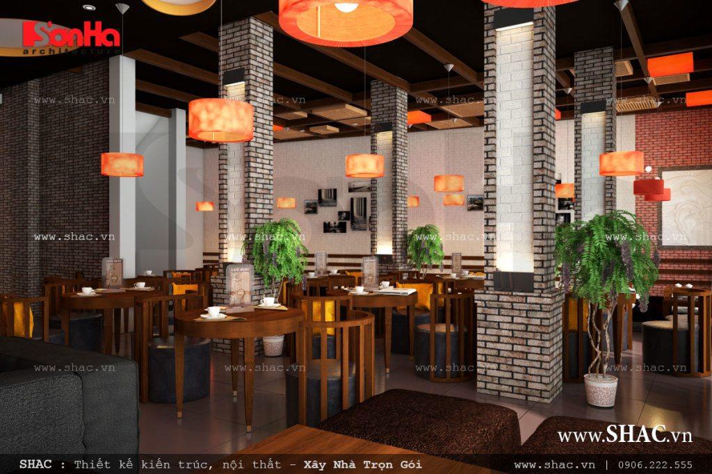 Nội thất đẹp cho quán cafe