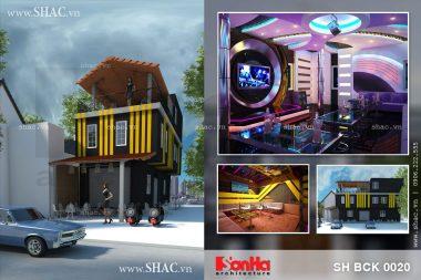 Thiết kế quán karaoke độc đáo và hiện đại