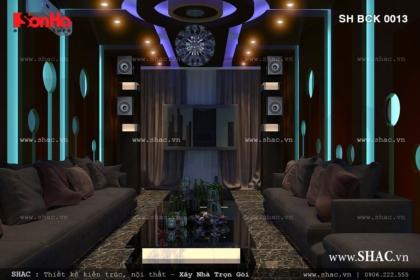 Thiết kế quán karaoke hiện đại