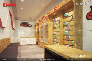 Thiết kế shop điện thoại apple tại Hải Phòng