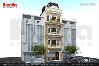 Xây nhà phố 4 tầng trọn gói