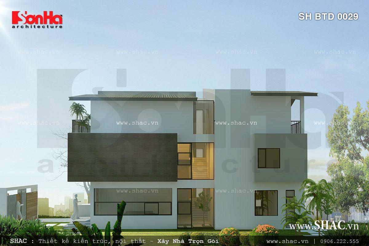 Biệt thự phố 3 tầng mặt tiền 7m – SH BTD 0029 2
