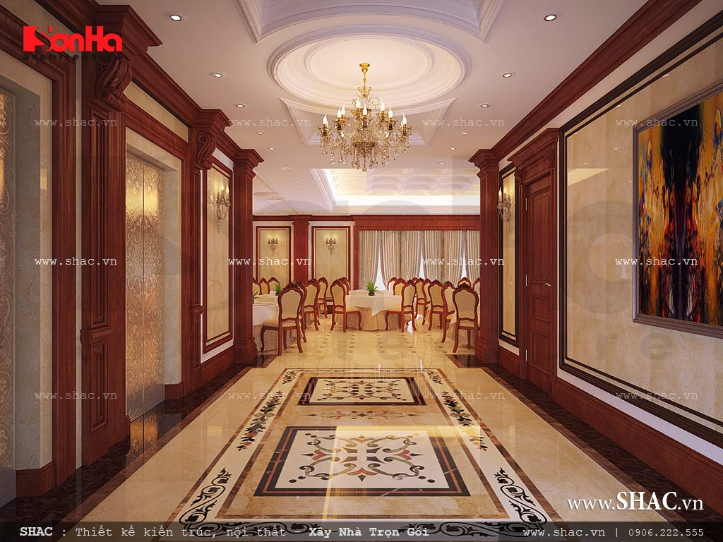 hành lang khách sạn