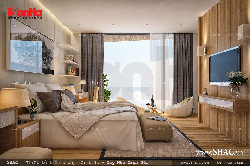 Biệt thự phố 3 tầng mặt tiền 7m – SH BTD 0029 9