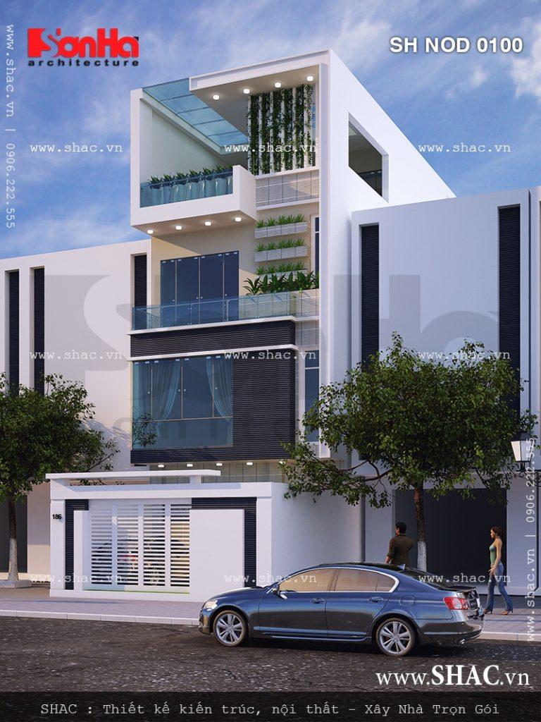 Mặt tiền nhà phố đẹp kiến trúc hiện đại, mat tien nha pho dep kien truc hien dai