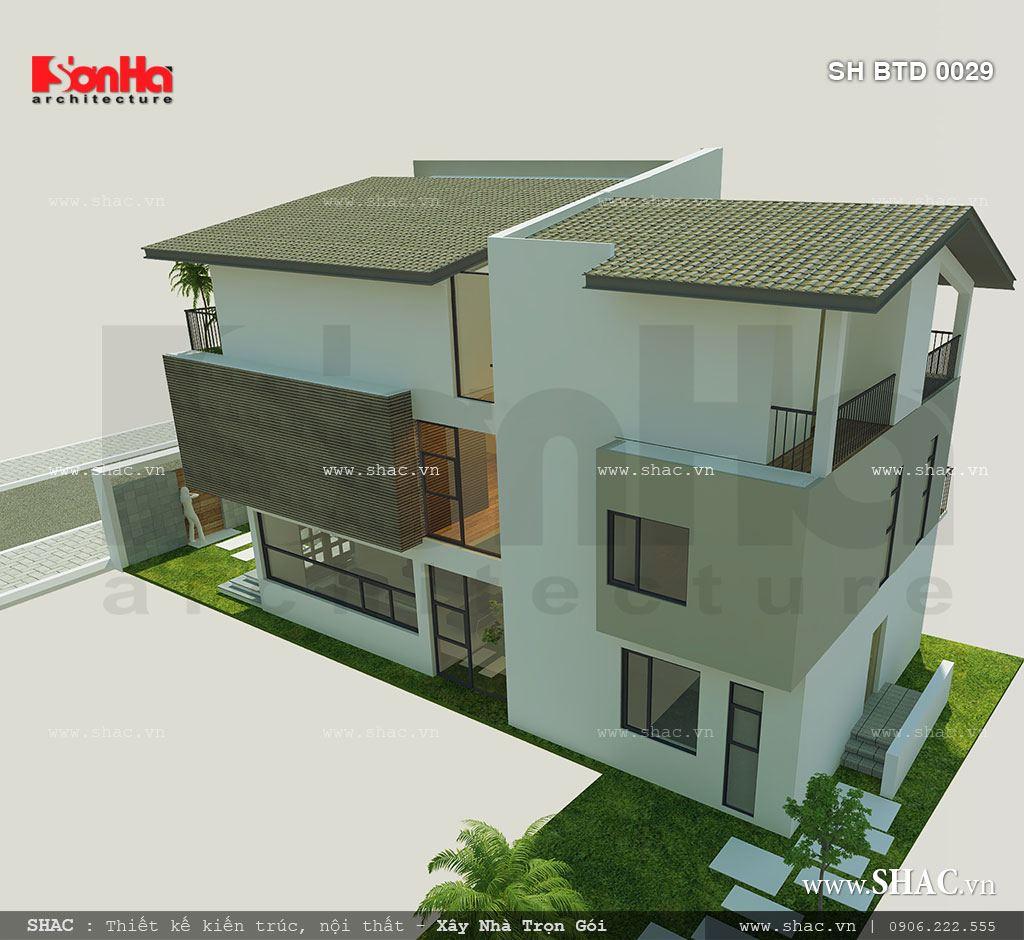 Biệt thự phố 3 tầng mặt tiền 7m – SH BTD 0029 5