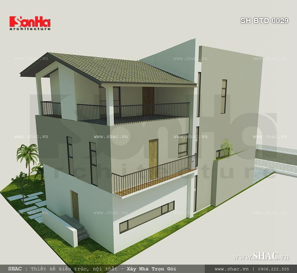 Biệt thự phố 3 tầng mặt tiền 7m – SH BTD 0029 3