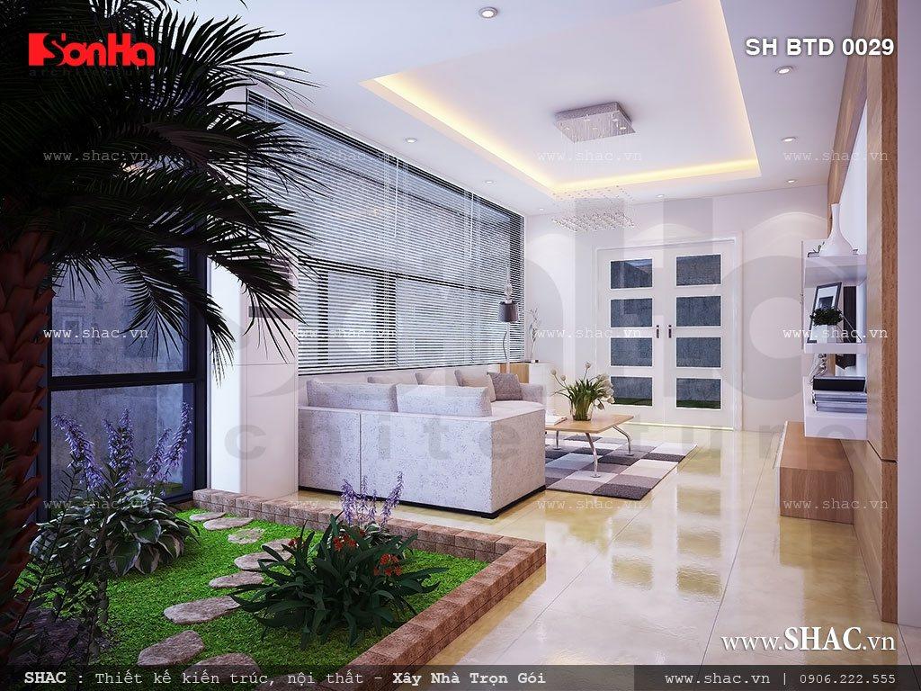 Biệt thự phố 3 tầng mặt tiền 7m – SH BTD 0029 7