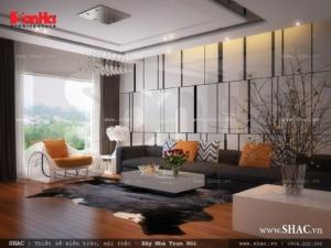 Phòng khách tầng 2 đẹp