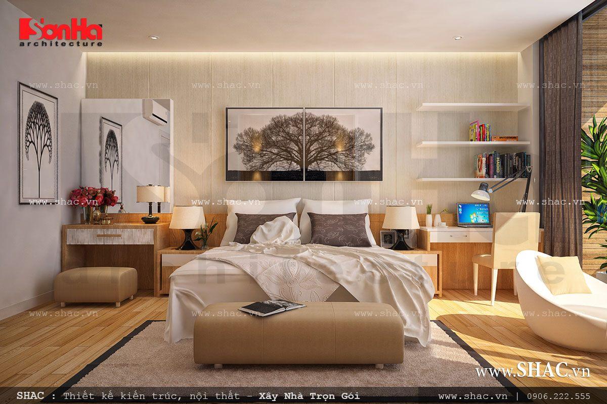 Biệt thự phố 3 tầng mặt tiền 7m – SH BTD 0029 12