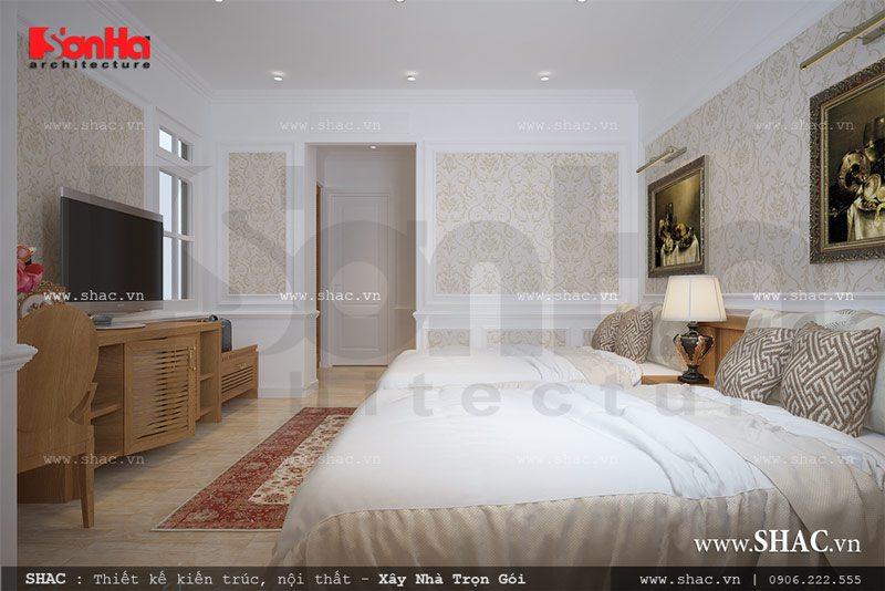Phòng ngủ đôi trong khách sạn