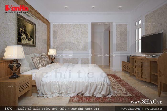 Mẫu thiết kế nội thất phòng ngủ khách sạn mini theo tiêu chuẩn 2 sao sang trọng