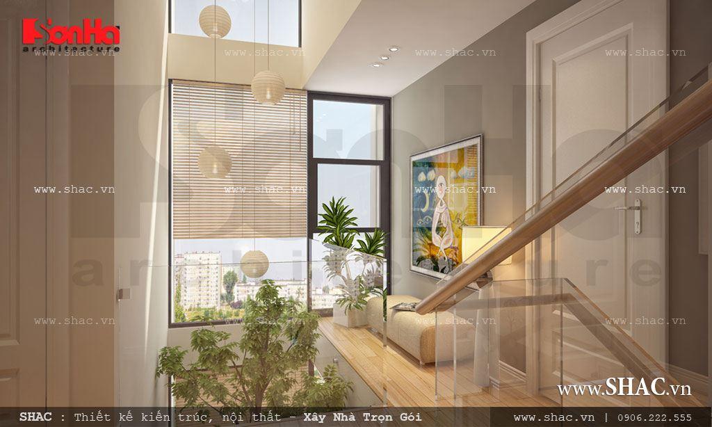 Biệt thự phố 3 tầng mặt tiền 7m – SH BTD 0029 18
