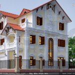 Biệt thự phố kiến trúc Pháp