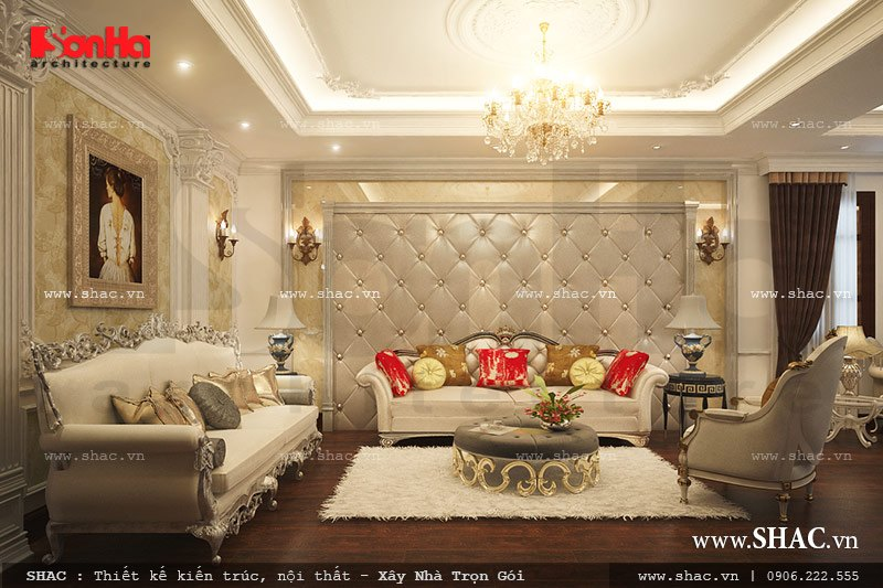 Sofa kiểu Pháp cho phòng khách