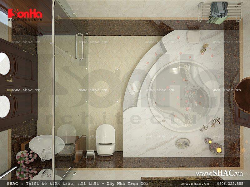 Phòng tắm rộng