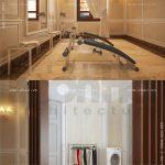 Phòng tập và phòng giặt đồ