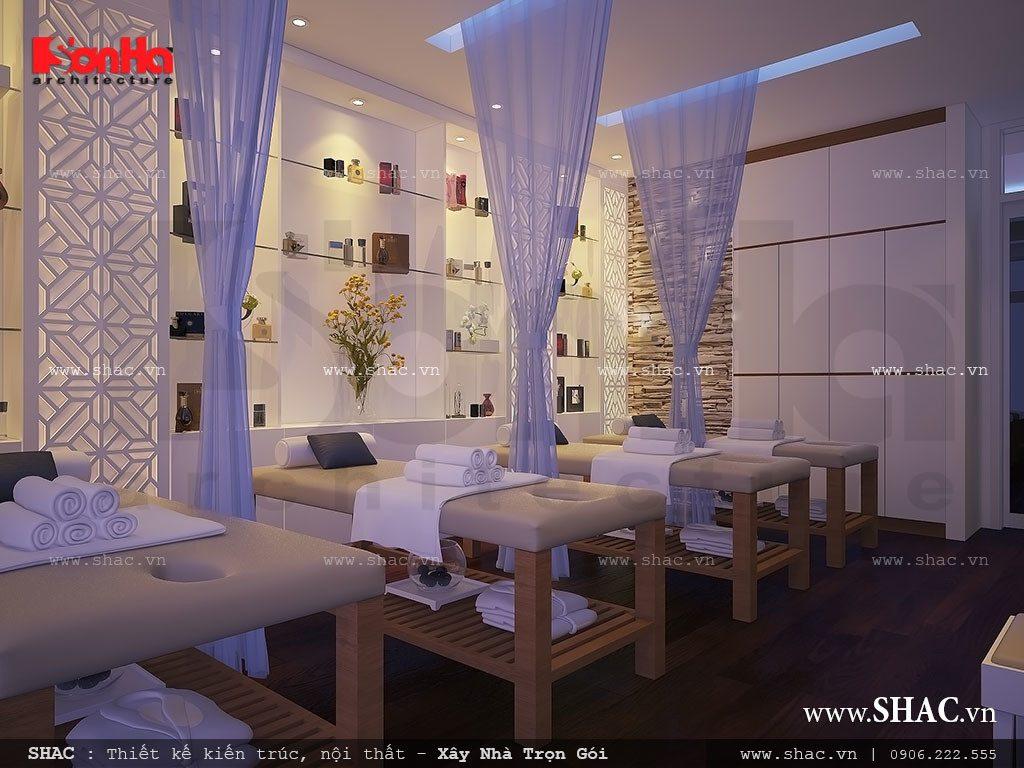 Thiết kế phòng massage đẹp