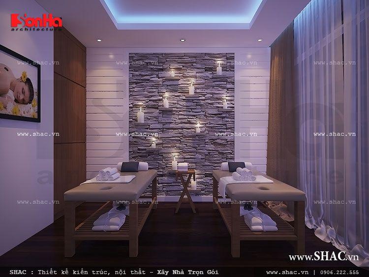 Phòng spa vip ấn tượng