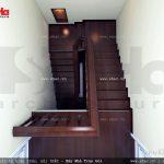 Nhà phố kiến trúc Pháp 3 tầng rưỡi mặt tiền 5m - SH NOP 0060 12