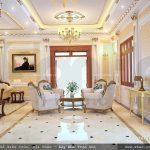 Một góc phòng khách phong cách Pháp đẹp