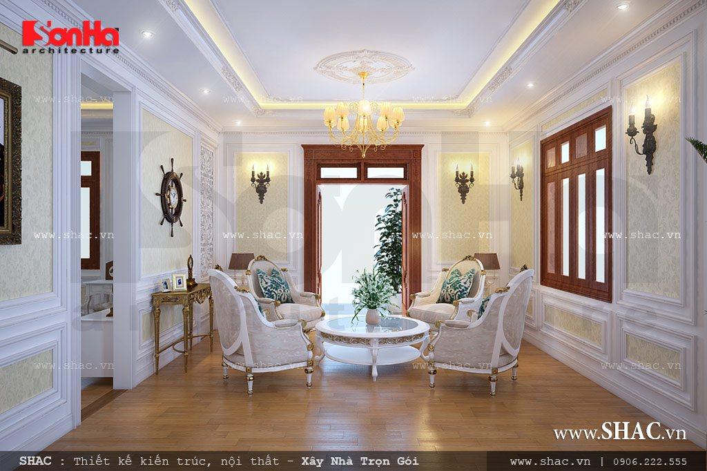 Biệt thự Pháp 5 tầng mái ngói đỏ - SH BTP 0043 13