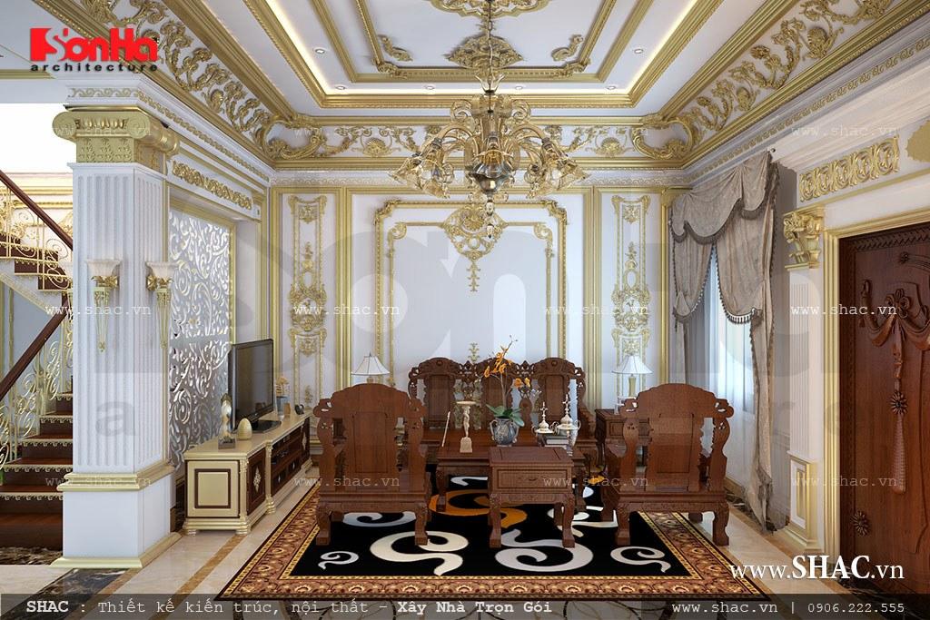 Nội thất gỗ đẹp cho phòng khách