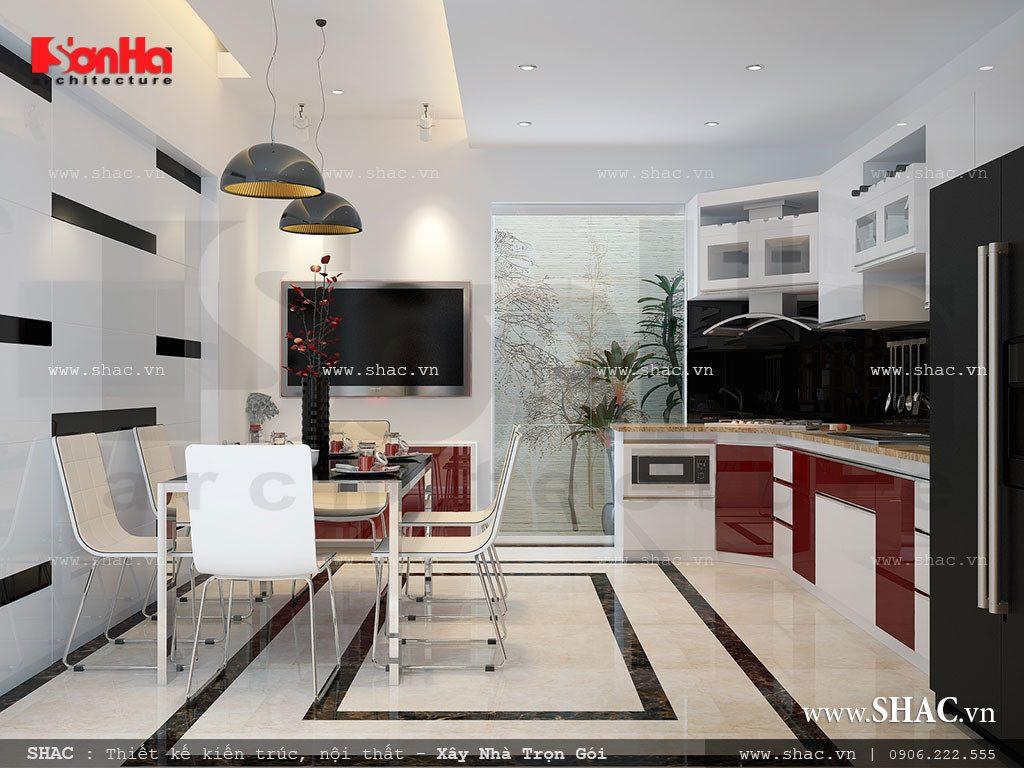Phòng ăn đơn giản nhưng đẹp