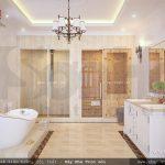 Phòng tắm và spa tại nhà