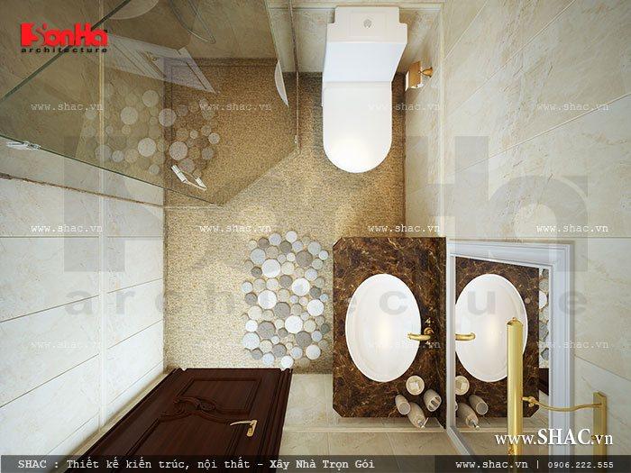 Phòng vệ sinh hiện đại