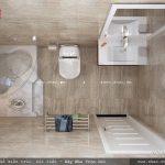 Phòng wc khép kín, tiện nghi