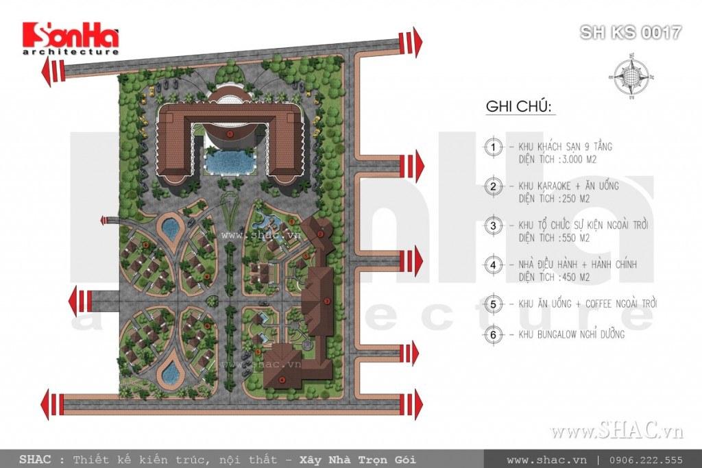 Bản đồ quy hoạch khách sạn
