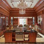 Không gian phòng bếp ăn đẳng cấp