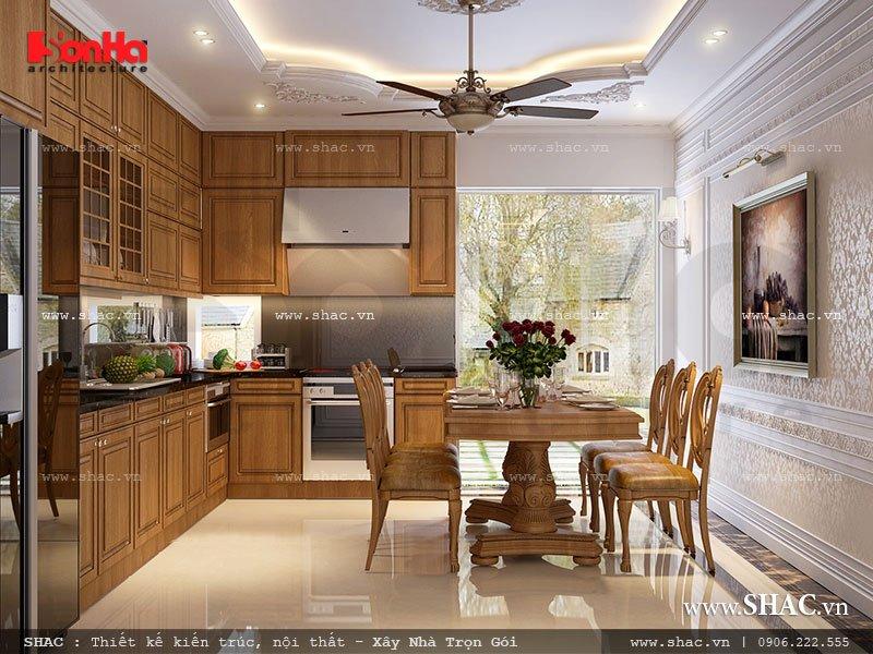 Nội thất gỗ cho phòng ăn