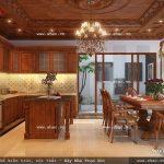 Thiết kế nội thất phòng ăn đẳng cấp