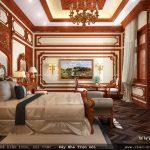 phòng ngủ biệt thự cổ điển SH BTLD 0016