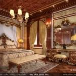 Phòng ngủ được ốp gỗ sang trọng SH BTLD 0016
