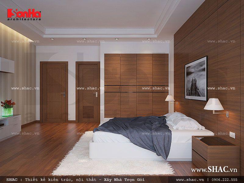 Phòng ngủ sẽ là căn phòng lý tưởng mà bất kỳ ai cũng muốn quay về sau mỗi giờ làm việc cắng thẳng, mệt mỏi