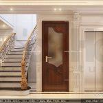 Sảnh cầu thang bộ và thang máy