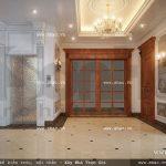 hành lang tầng 3