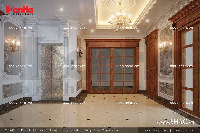 Biệt thự 3 tầng kiến trúc Pháp độc đáo - SH BTP 0050 21