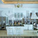 Khu bếp ăn sang trọng và tinh tế